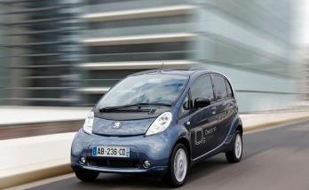 Peugeot iOn: Un auto totalmente eléctrico