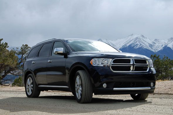 Precio del Dodge Durango 2012