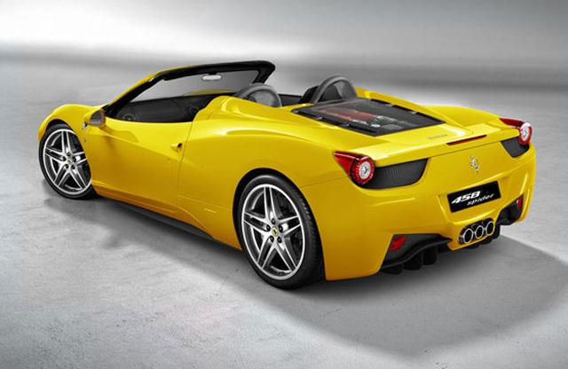 Ferrari 458 Spider se presenta