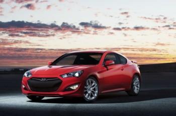 Hyundai Genesis Coupe 2012, un cambio de estilo 'agresivo'