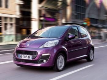 Peugeot 107, un menor gasto de combustible para el 2012