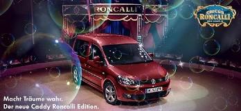 Volkswagen Caddy Roncalli, un coche exclusivo para Alemania