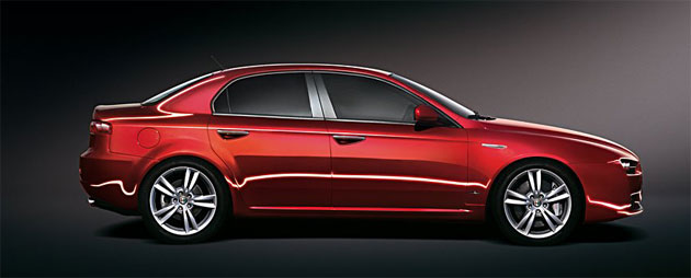 Alfa Romeo 159, un modelo 2012 que se las trae
