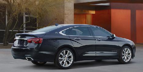Chevrolet Impala 2013, el renovado Impala que viene