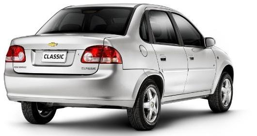 Chevrolet classic 2012, un modelo barato y a la vez llamativo