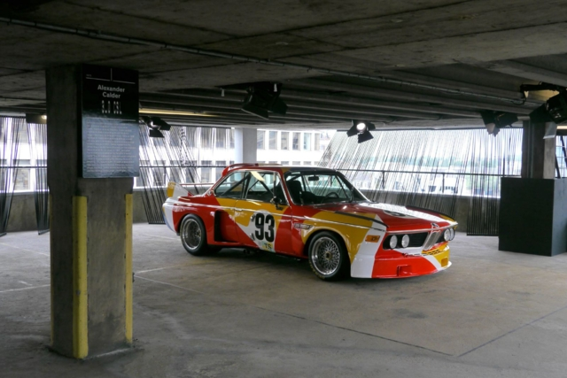 Londres: realizaron una exhibición de arte con autos