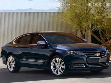 Chevrolet Impala 2013, glamour al más alto nivel