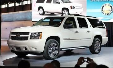 Chevrolet Suburban 2013, un automóvil con calidad, glamour y potencia