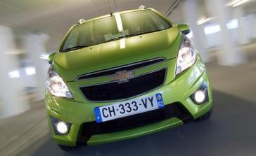 Chevrolet Spark 2013, un auto cómodo y juvenil