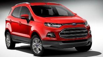 Ford Ecosport 2013, excelente diseño en interior y exterior